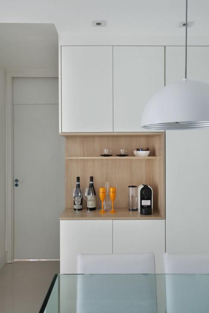 1001 id es pour une cuisine laqu e blanche des exemples bien lumineux. Black Bedroom Furniture Sets. Home Design Ideas