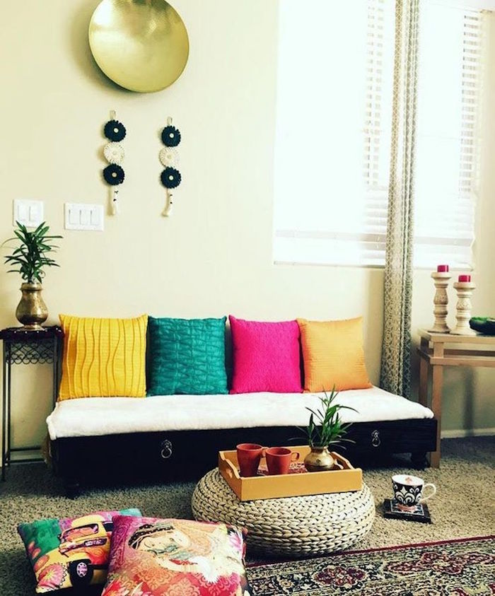 14 Amazing Living Room Designs Indian Style Interior And: Déco Ethnique – Inspiration Et Exotisme