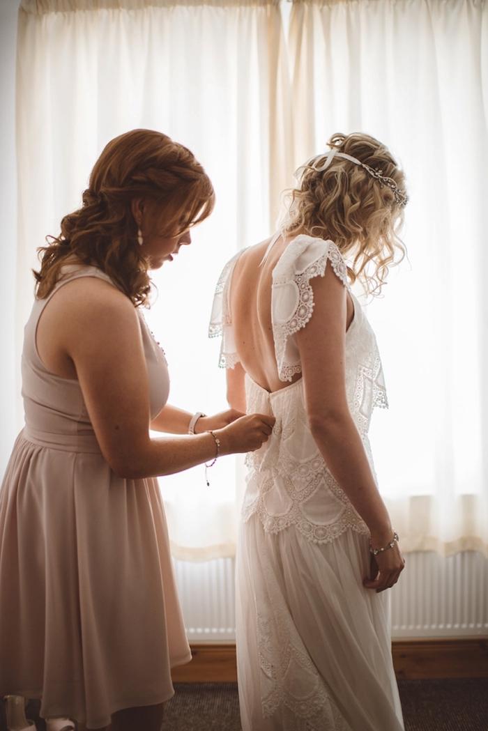 Amour et mariage robe de mariée vintage robe de mariée simple vintage boheme chic robe de mariée