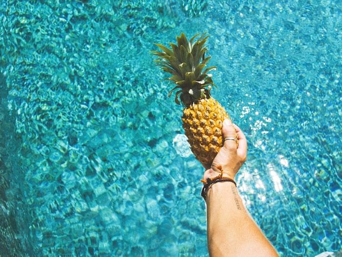Image de fond d'écran pour fille fond d'écran stylé cool arrière plan tendance été et ananas