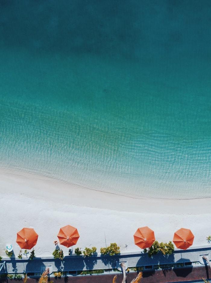Joli fond ecran telephone fond d'écran stylé image à choisir pour fille photo de plage de haut