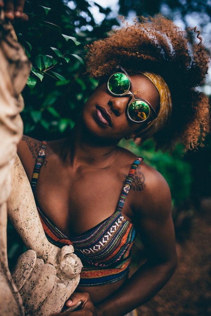 Bien habillée robe africaine chic 2018 féminine modele de robe africaine chic
