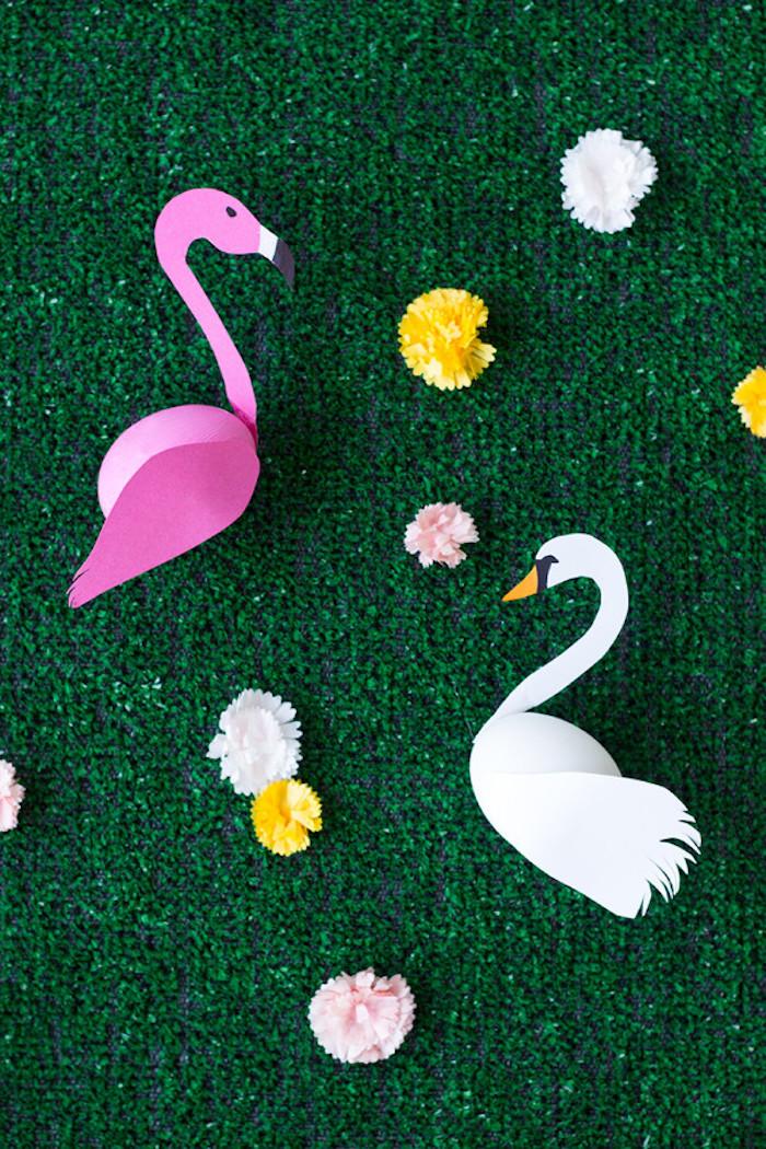 Bricolage paques déco de Pâques table festive déco art papier