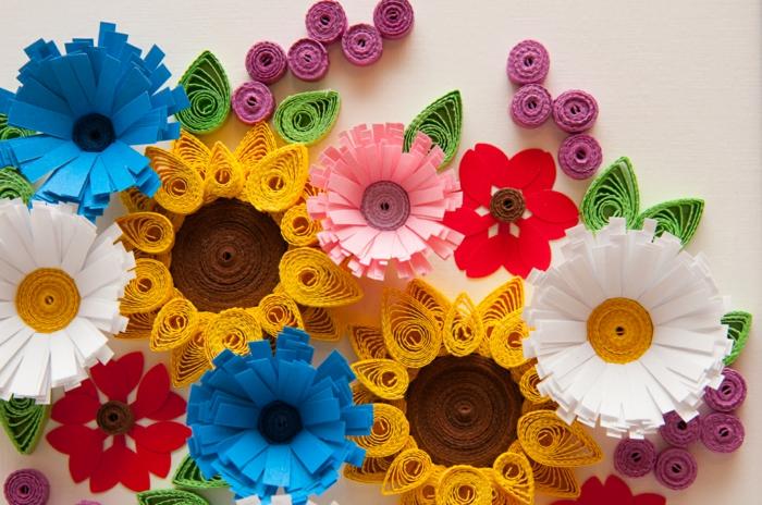 design sophistiqué de fleurs colorées, carte de voeux design fleuri