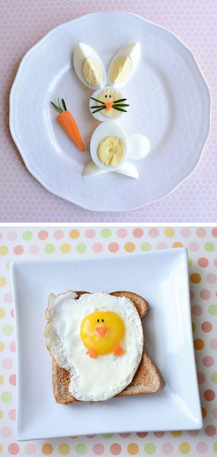 Activité manuelle paques déco de Pâques belle déco paques petit déjeuner festif
