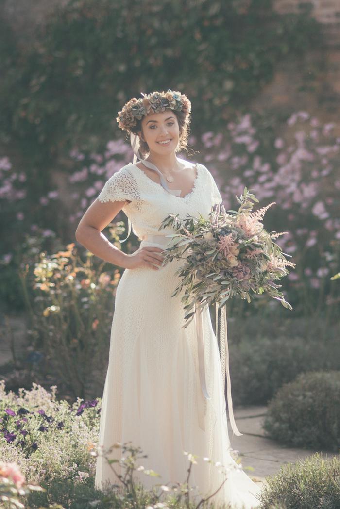 Image mariage robe de mariée champetre robe champetre chic