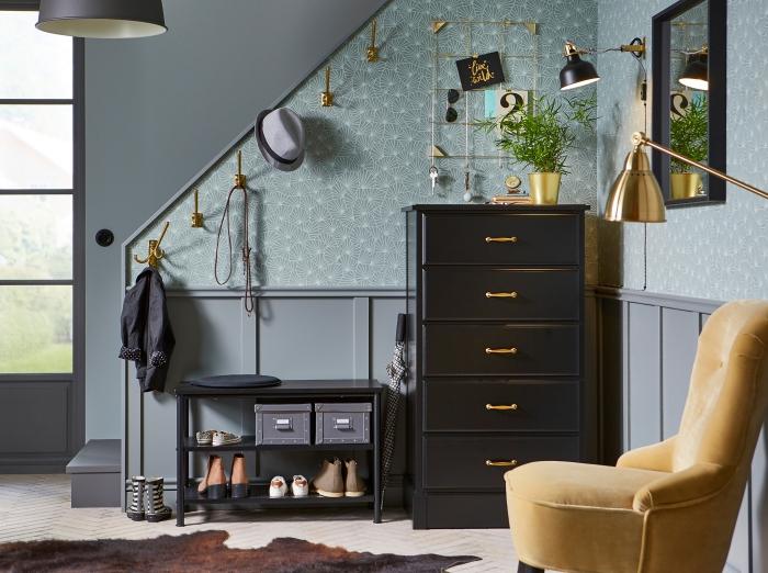 trouvez votre id e d co couloir pr f r e parmi les. Black Bedroom Furniture Sets. Home Design Ideas