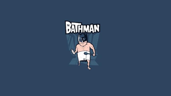 Fond ecran drole Bathman fond d écran sympa fond d écran comique chouette