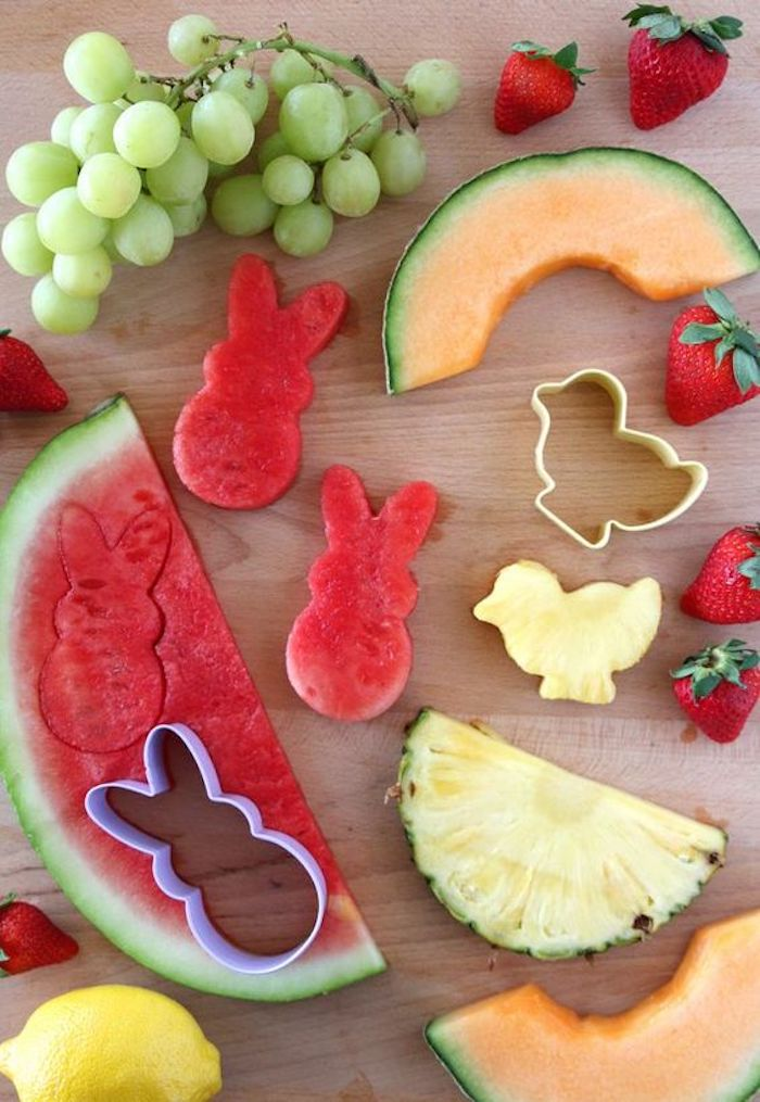 Activités manuelles paques déco de Pâques originale fruits modèle