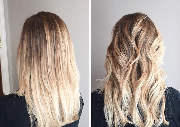 comment faire pour boucler ses cheveux avec un lisseur, fer à lisser ou une méthode naturelle, tutoriels