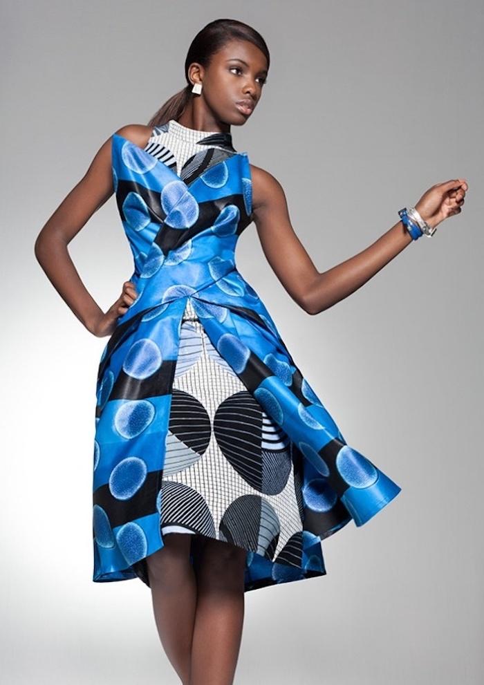 Modele de robe africaine chic belle robe ethnique africaine chic ultra moderne