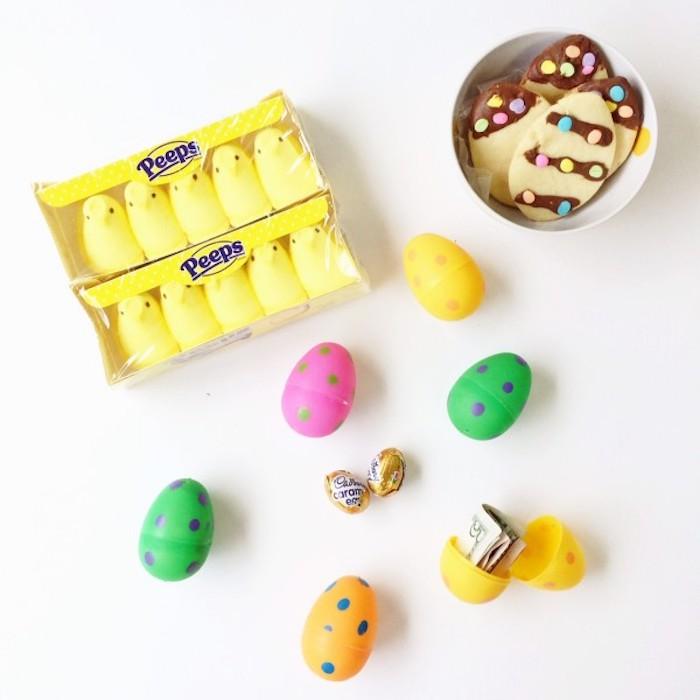 Activités manuelles paques deco de paques idée comment faire oeufs colorés
