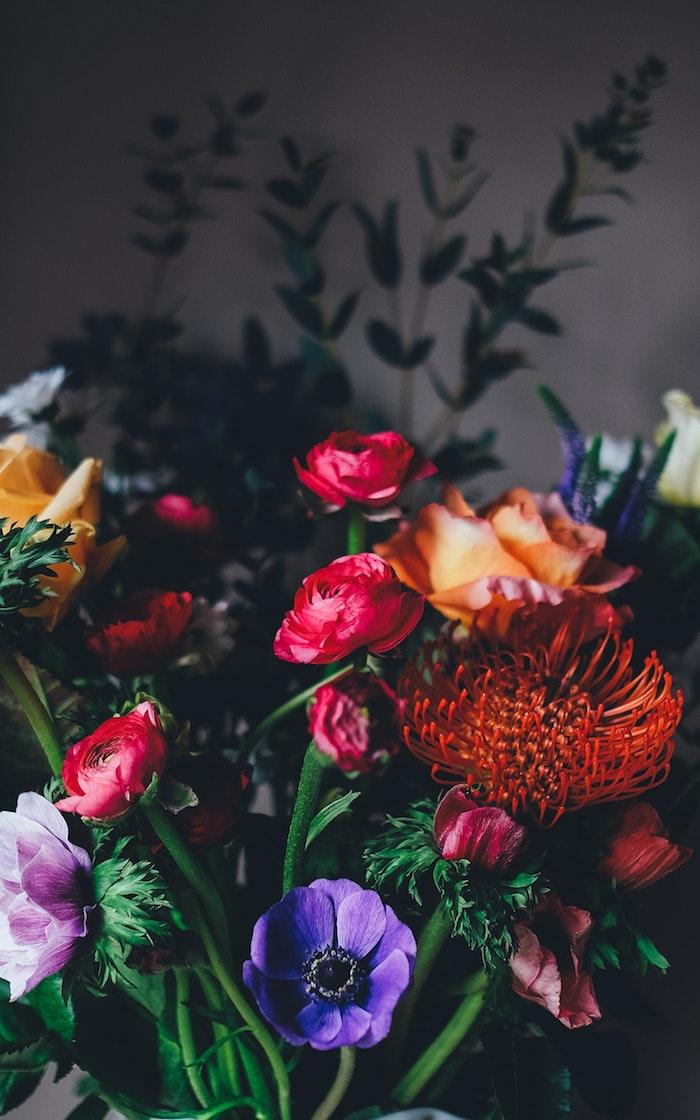 Belle image pour fond d'écran fond ecran rose pale fleurs pour boquet