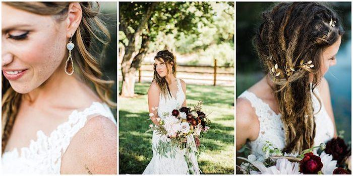 Mariage bohème robe de mariée champetre mariage champetre robe