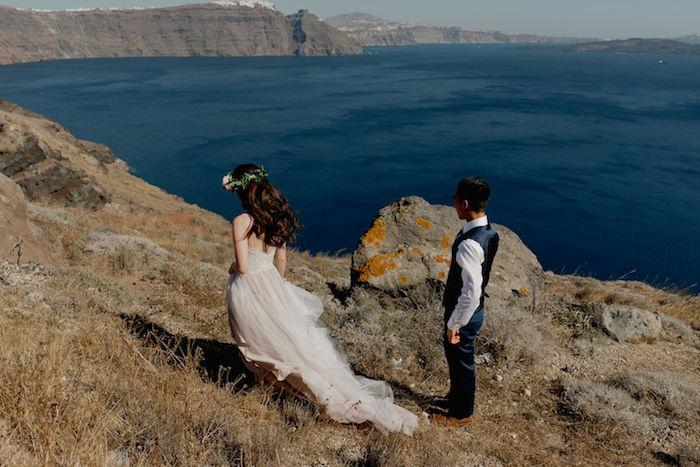 Mariées de provence robe mariage civil couleur robe de mariée