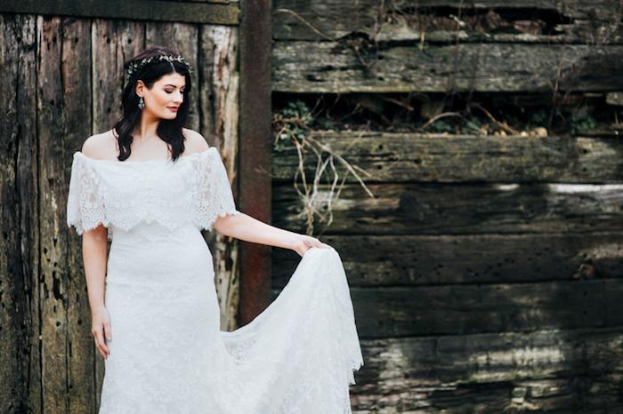 Bohème robe de mariée bohème robe boheme mariage robe dentelle