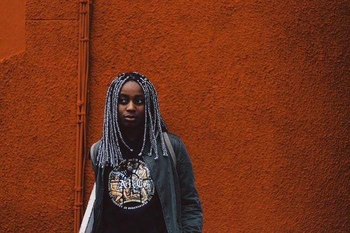Meche femme coupe de cheveux afro coiffure afro fille tresse africaine femme modele de tresse idée de coiffure femme
