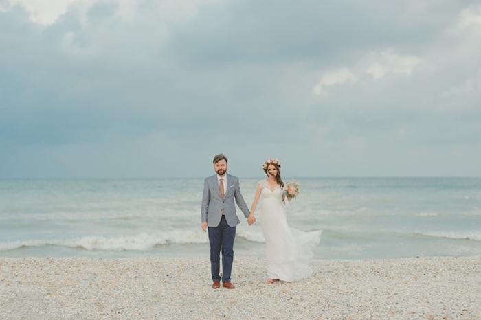 Belle robe de mariée createur robe de mariée rétro bohème chic robe mariage