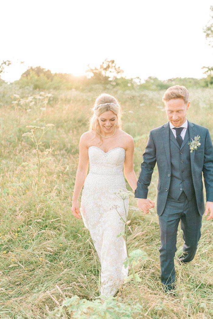 Superbe robe de mariage civil chic robe de mariée simple