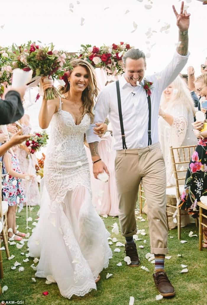 1001 id es magnifiques pour robe de mari e champ tre