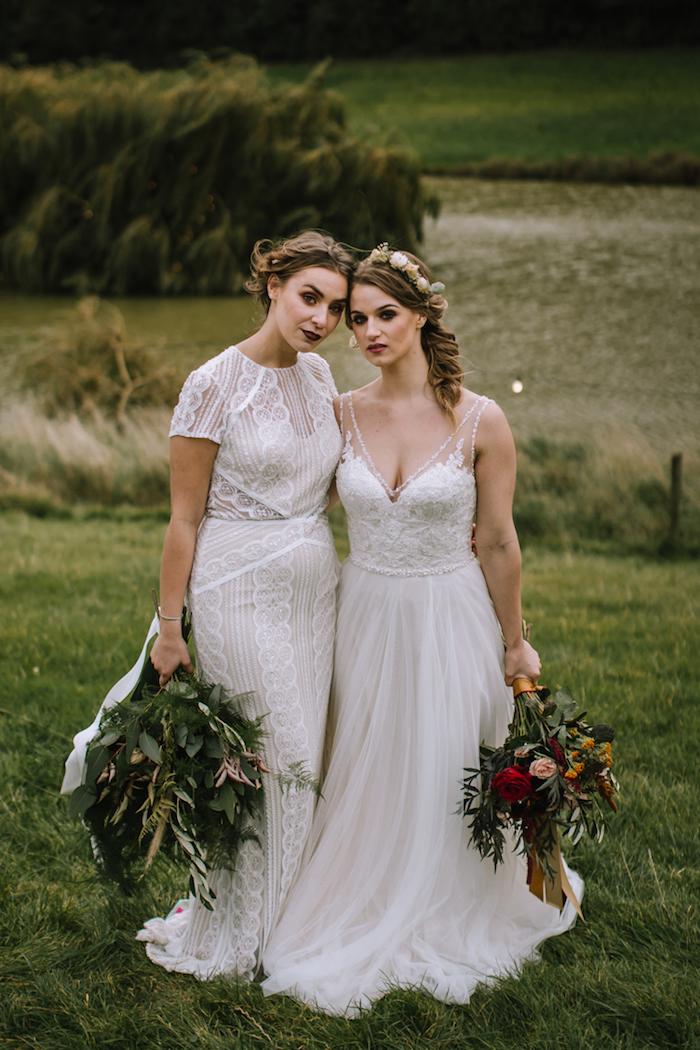 Quelle robe mariée bohème chic choisir robe de mariée simple et chic mariage champêtre