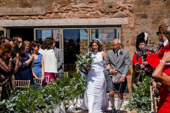 Image robe de mariée originale robe champetre chic bohème mariage