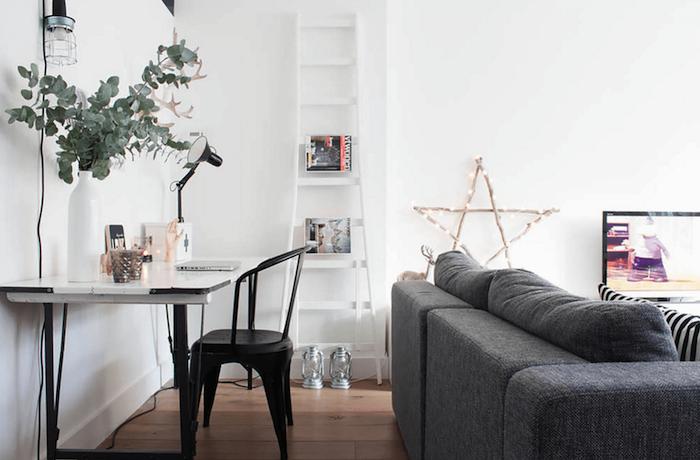 Fantastique salon scandinave deco scandinave meuble nordique détails