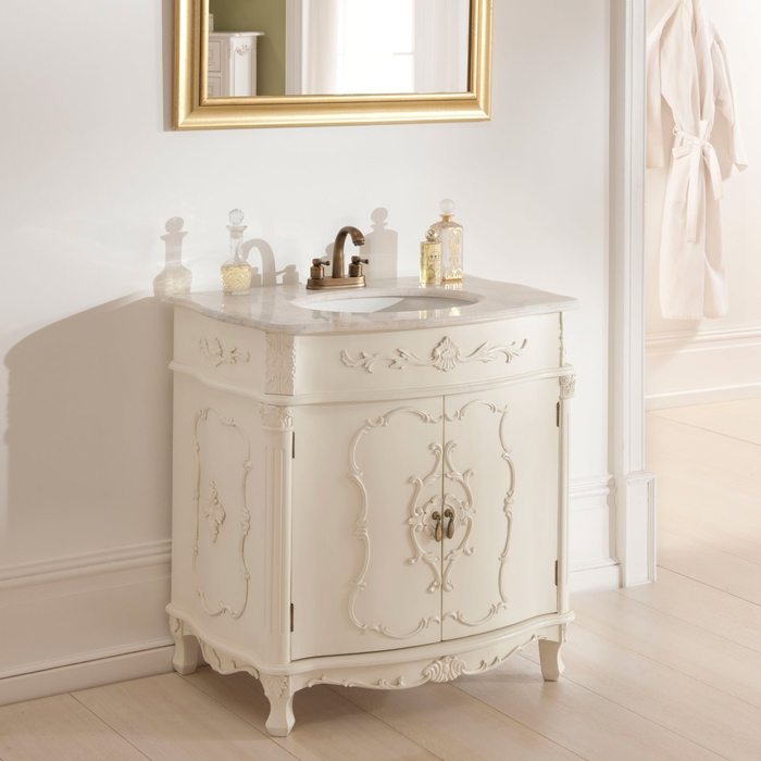 meuble salle de bain shabby chic interesting commode. Black Bedroom Furniture Sets. Home Design Ideas