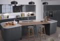 Déco cuisine gris et blanc – sobre et efficace