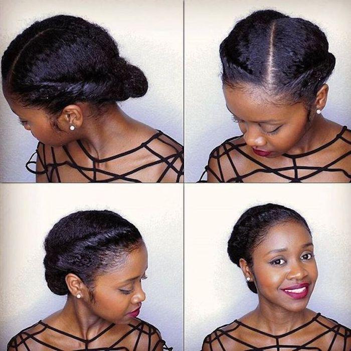 Comment se coiffer idée de chignon chic idée coiffure coiffée coiffure de mariage