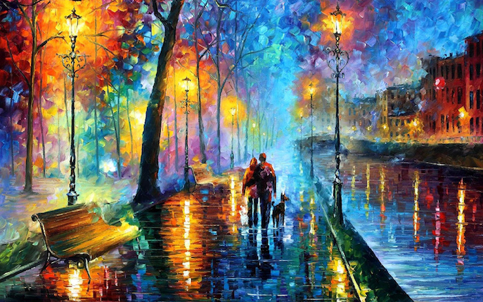 Art peinture fond d'écran artistique peinture fille idée inspiratrice pour le desktop
