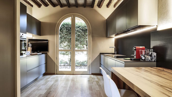 idée de quelle couleur pour les murs d'une cuisine, meubles ikea tendance pour renovation cuisine