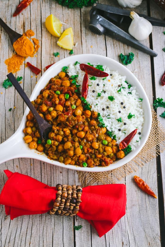 repas minceur, recette minceur, mais et riz, plat coloré, des pois verts, jus de citron, gousses d'ail, menu de la semaine, poivrons piquants