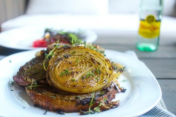 recette dietetique, repas minceur, idee repas soir, oignons farcis avec du persil, soirée apéro, recette française, recette legere, régime