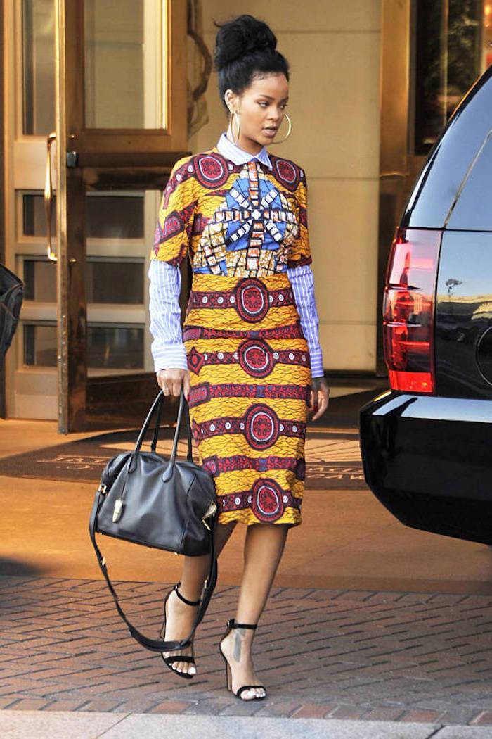 Tenue africaine femme chic modele de robe africaine chic beauté femme