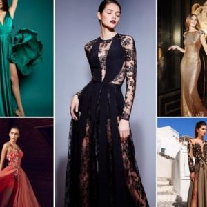 Robe de soirée chic et glamour. 100 modèles inspirants pour un coup de foudre ou d'amour