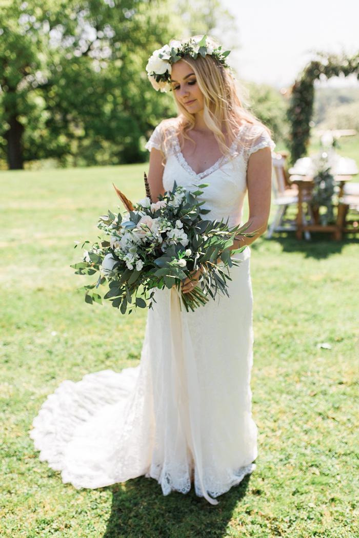 Super idée quelle robe de mariée simple robe de mariée vintage bohème