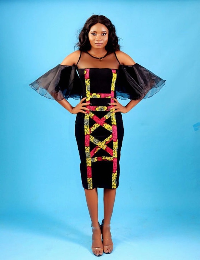 Robe ethnique africaine chic modele de robe africaine chic