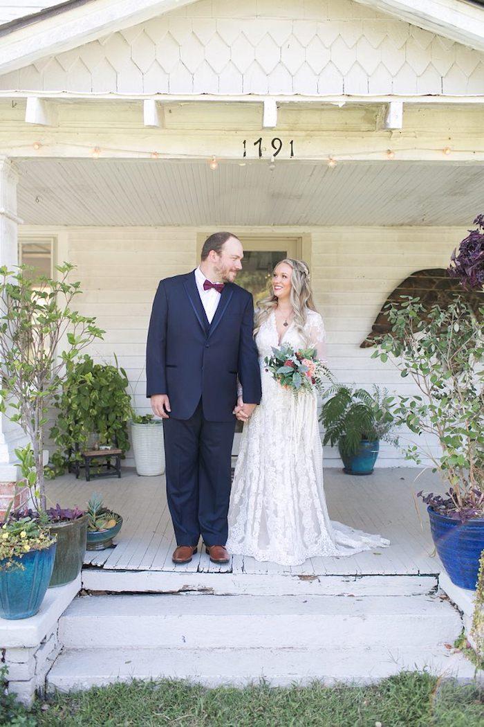 Robe de mariée vintage robe mariage champetre robe boheme mariage robe de mariée