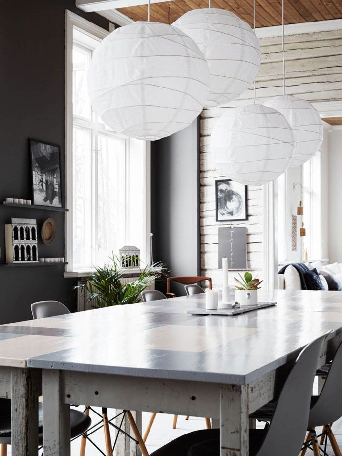 Deco interieur nordique meuble nordique hygge deco salle de sejour nordique salle à manger