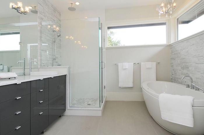 Salle de bain beige et gris – pierre deviendra sable – OBSiGeN