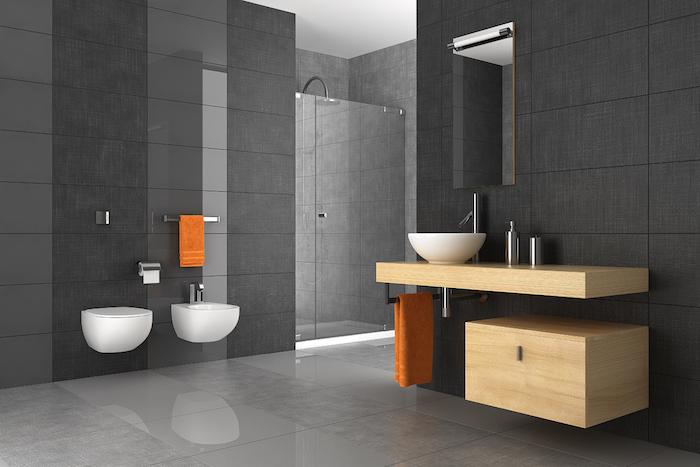 ▷ 1001 + idées | Salle de bain beige et gris – pierre deviendra sable