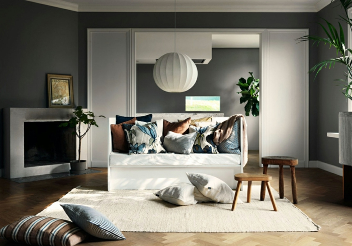 1001 id es pour une d co salon zen les int rieurs types pour une ambiance ethnique. Black Bedroom Furniture Sets. Home Design Ideas