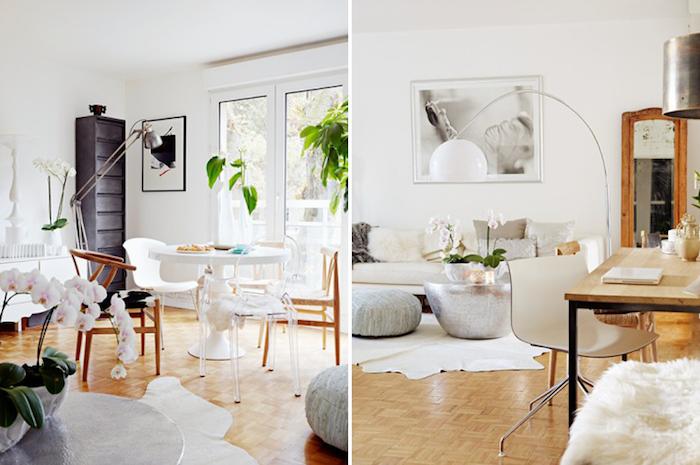 Sejour scandinave style scandinave ikea décoration de chambre scandinave