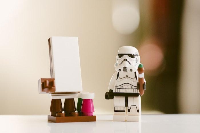 Image pour fond ecran fond d'écran moderne choisir une image rigolote stormtrooper qui peut dessiner