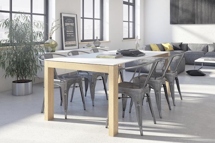 Table et chaise scandinave deco suedoise canapé suedois salon déco