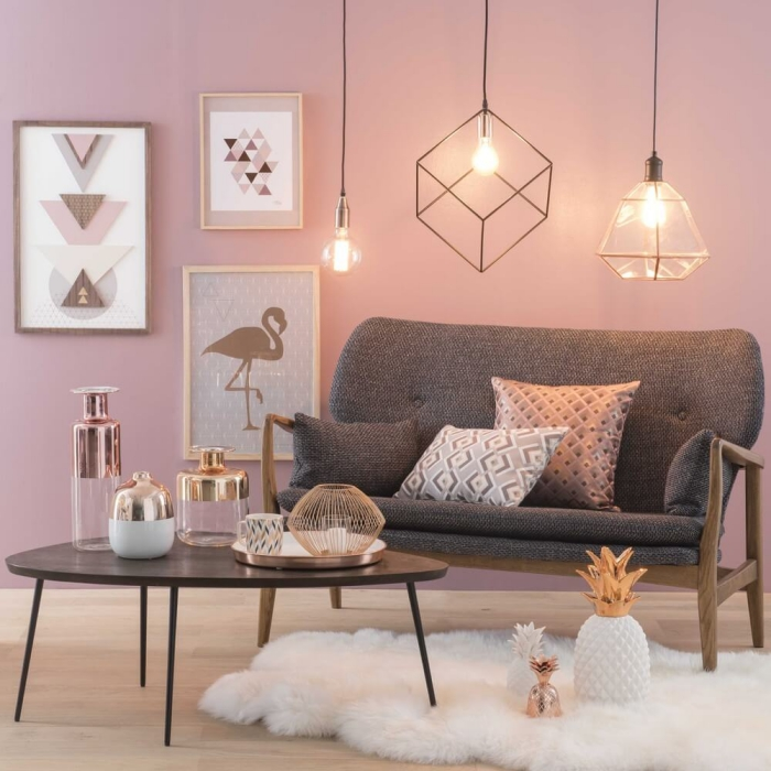Decoration Maison Rose Poudre