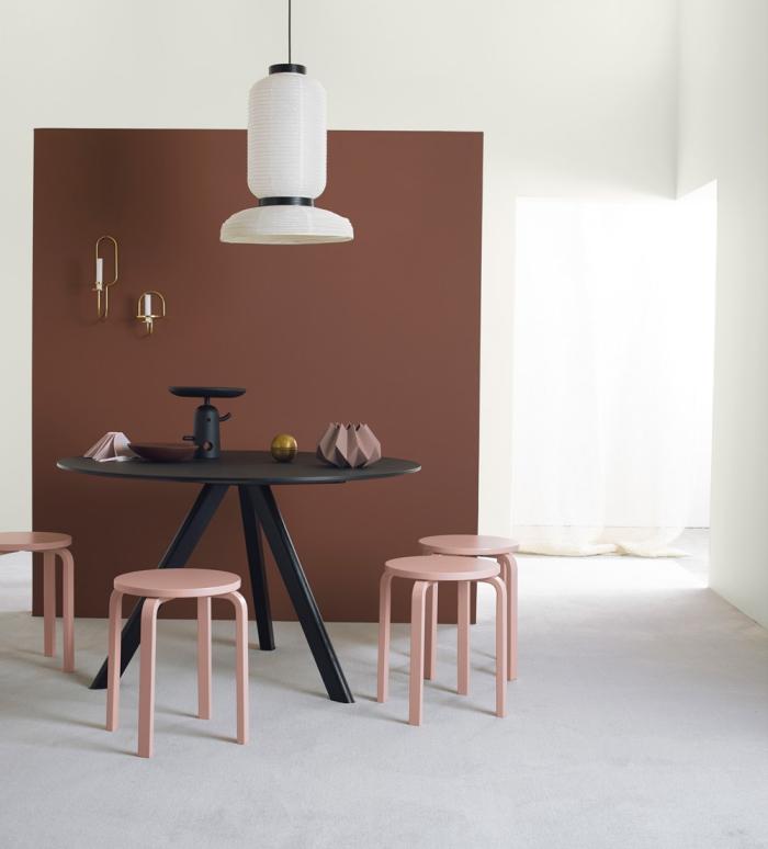1001 exemples inspirants pour une d co rose poudr. Black Bedroom Furniture Sets. Home Design Ideas