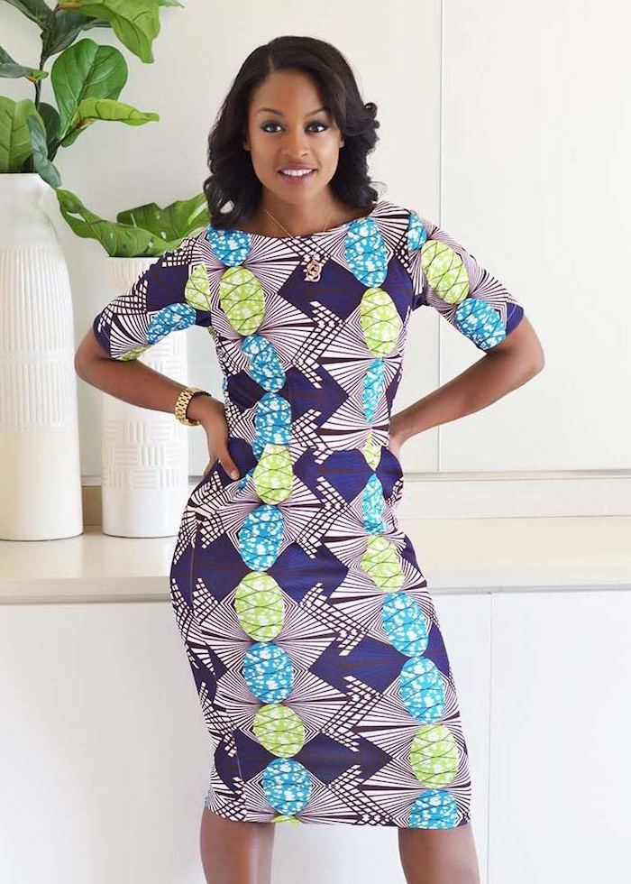 Tendance robe ethnique africaine chic tenue africaine chic femme moderne