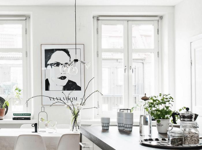 Tableau scandinave idée intérieur scandinave deco choisir le style nordique déco scandinave salon style